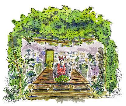 Greenhouse to Volcano Garden Arts by Diane Thornton