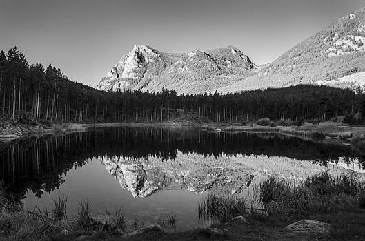 Greenough Lake Reflections by Stephanie Thomson