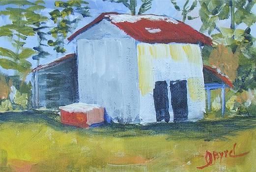 Greenpath Tobacco Barn by Joe Byrd