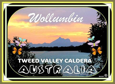 Greetings from Wollumbin Card by Kevin Perandis