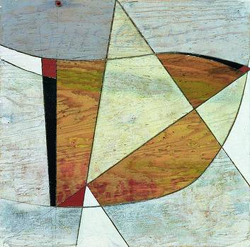George Dannatt - Grenville, 1978 Pencil And Oil On Driftwood