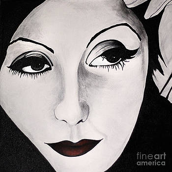 Greta Garbo by Denise Wilkins