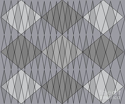 Grey Diamond Plaid by Anne Cameron Cutri