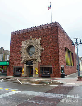 Gregory Dyer - Grinnell Iowa - Louis Sullivan - Jewel Box Bank - 03