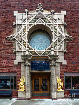 Gregory Dyer - Grinnell Iowa - Louis Sullivan - Jewel Box Bank - 05
