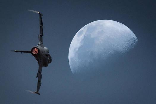 Gripen Moon by Paul Job