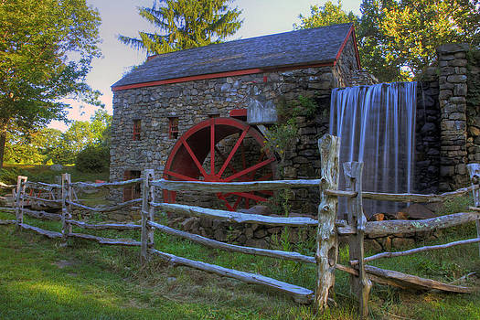 Grist Mill by David Simons