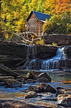 Kathleen K Parker - Grist Mill in Babcock State Park West Virginia