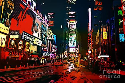 John Malone - Gritty Times Square