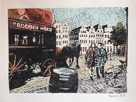 Grote Markt Antwerpen by Varvara Stylidou