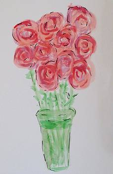 Group of Roses by Cindy Lawson-Kester