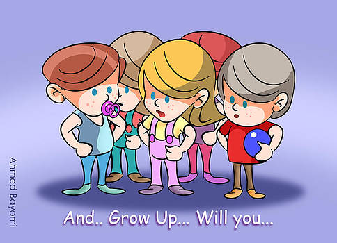 Grow Up by Ahmed Bayomi