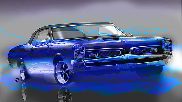 GTO Blues by Fred Otene