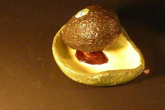 Guacamole Limoli  Bowl made in USA by Debbie Limoli