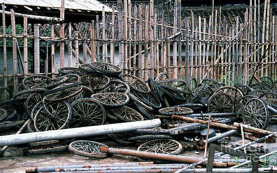 Guangzhou Tires by Scott Shaw