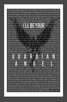 Guardian Angel. by Angela  Bautista-Diaz