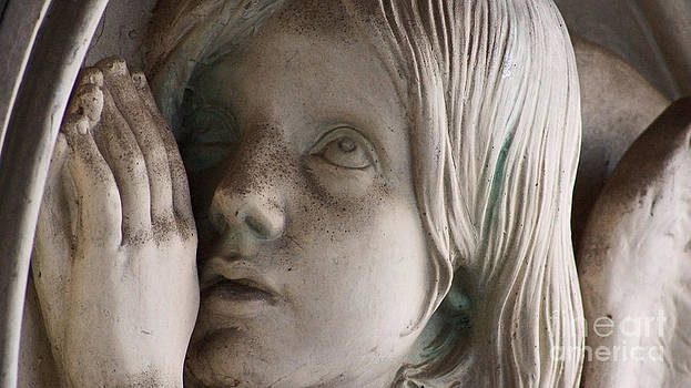 Guardian Angel with praying hands by Eva-Maria Di Bella