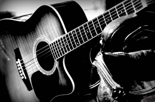 Guitar 2 by Karen Kersey