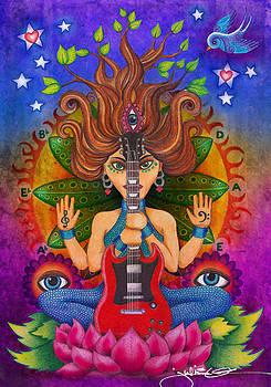 Guitar Goddess by Julie Oakes