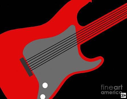 GuitarPop I by Andy Heavens