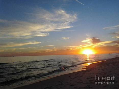 Gulf Shores Alabama Sunset2 by LCS Art
