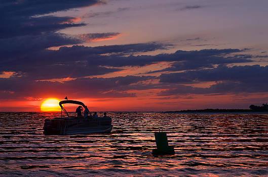 Gulf Sunset by Laura Fasulo