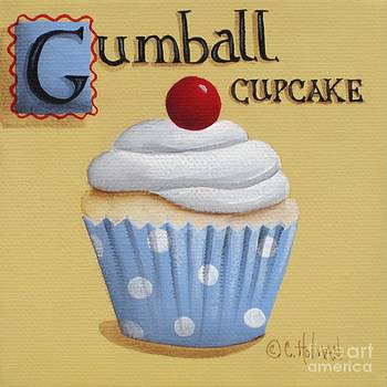 Gumball Cupcake by Catherine Holman