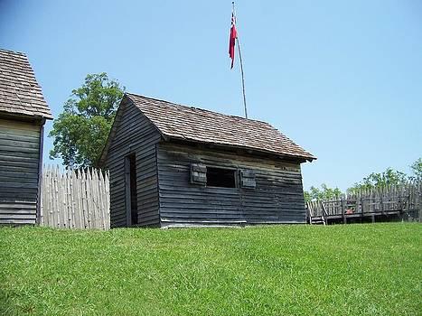 Gun powder at Fort Loudon by Regina McLeroy