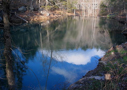 Gunner Pool Reflections by CGHepburn Scenic Photos