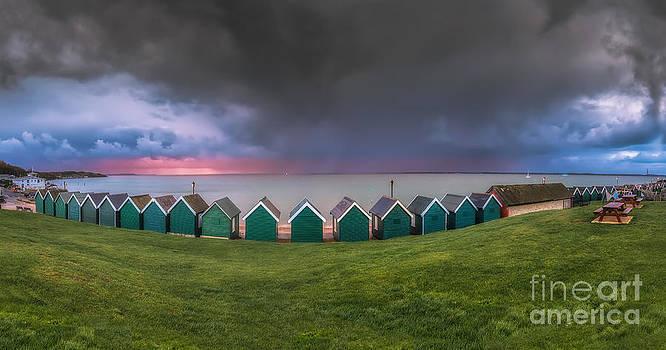 English Landscapes - Gurnard Bay Panorama #2