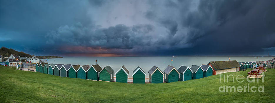 English Landscapes - Gurnard Bay Panorama