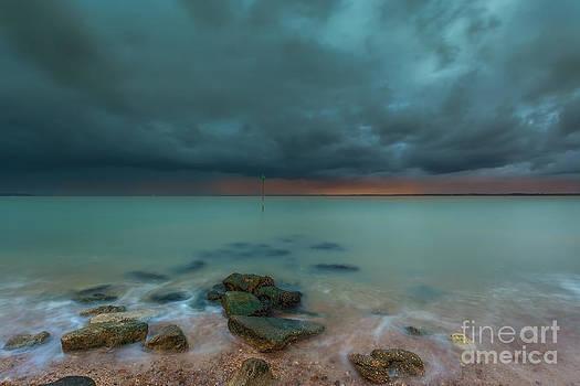 English Landscapes - Gurnard Bay Storm