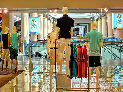 Guys At The Mall by Jeff Breiman