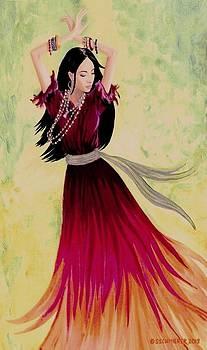 Gypsy Dancer by SophiaArt Gallery