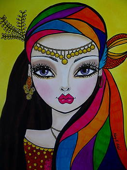 Gypsy Girl by Maria  Ruiz