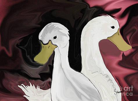 Gypsy's Ducks by Sherin  Hylan