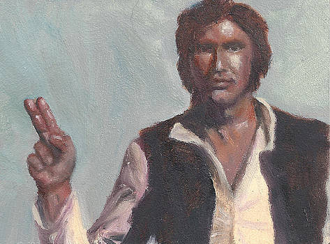 H is for Han Solo by Jessmyne Stephenson