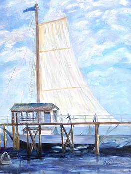 Hackney's Sailboat by Joanne Killian