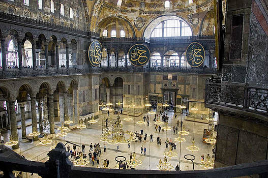 Hagia Sophia Scene Eight by Cliff C Morris Jr