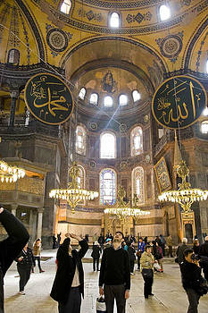 Hagia Sophia Scene Nine by Cliff C Morris Jr