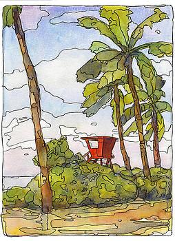 Stacy Vosberg - Haleiwa Lifeguard Tower 1
