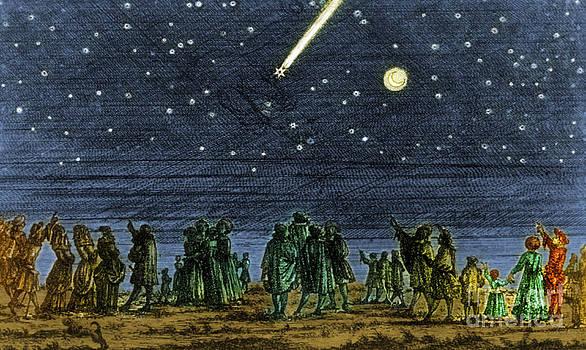 Science Source - Halleys Comet 1682