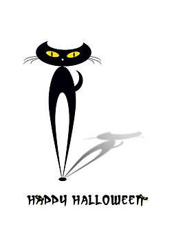 Halloween Cat by Mariola Szeliga