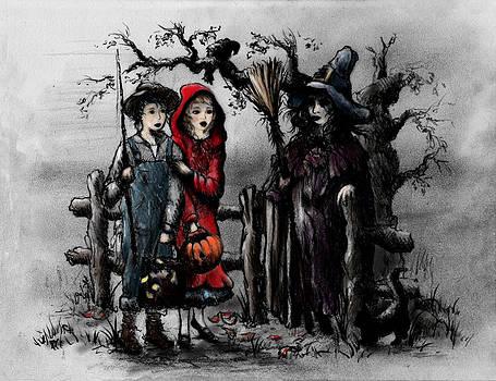 Halloween Night by Rachel Christine Nowicki