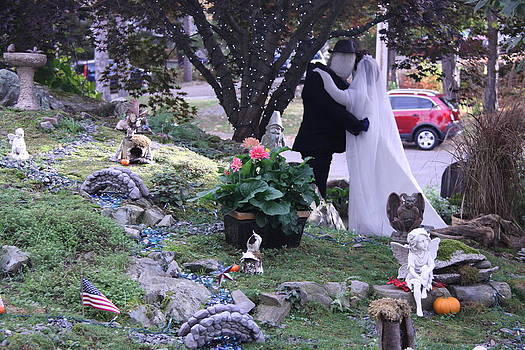 Halloween Wedding by Dick Willis