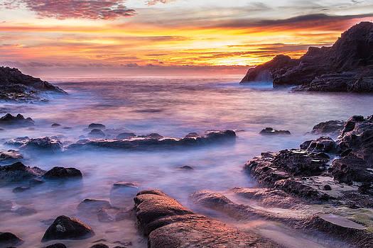Halona Cove Sunrise 3 by Leigh Anne Meeks