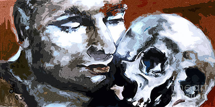 Ginette Fine Art LLC Ginette Callaway - Hamlet Laurence Olivier William Shakespeare