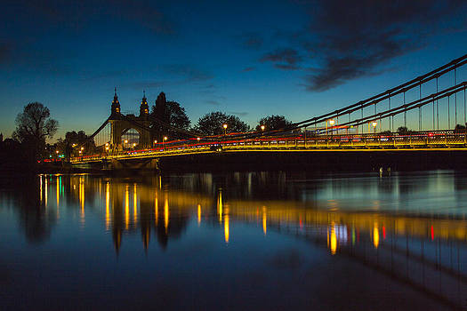 Hammersmith Bridge by Matthew Bruce