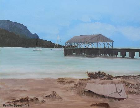 Hanalei Pier - Kauai by Dorothy Merritt