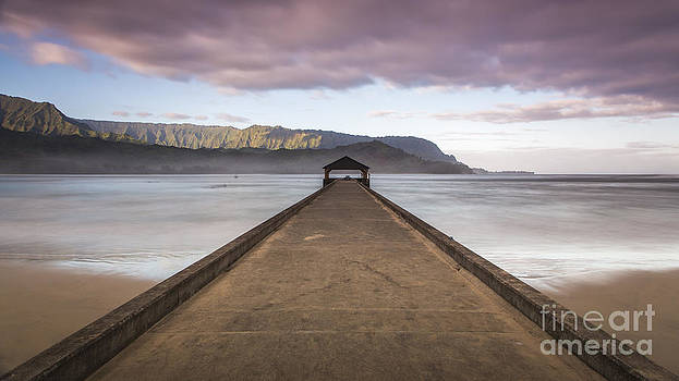 Hanalei Pier Kauai by Dustin K Ryan